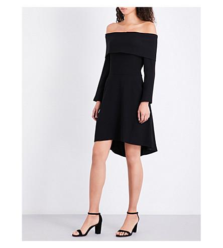 THEORY Elegant crepe mini dress (Black