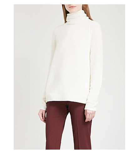 THEORY Norman turtleneck cashmere jumper (Ivory