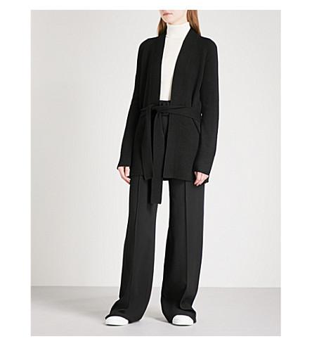 THEORY Malinka belted cashmere cardigan (Black