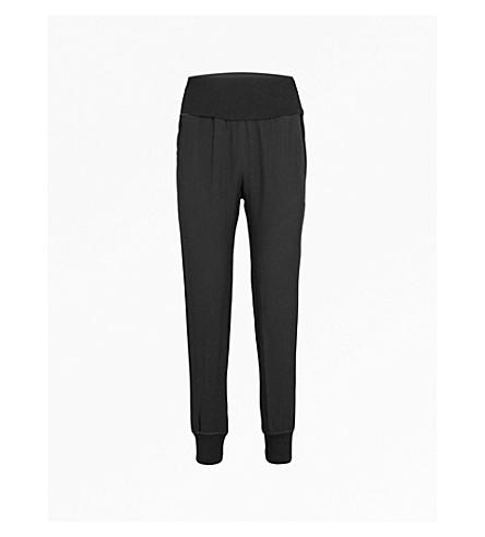 THEORY Kensington crepe jogging bottoms (Black