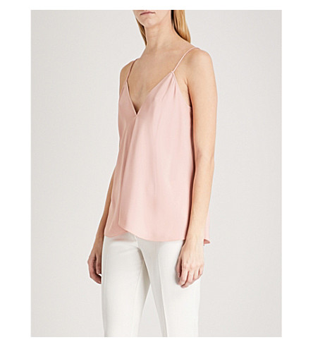 THEORY Kensington crepe top (Pink+tutu