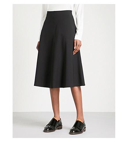 THEORY Harlo woven skirt (Black