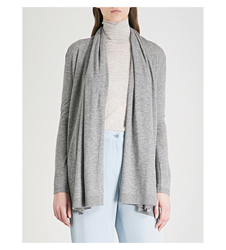 THEORY Open-front cashmere cardigan (Husky