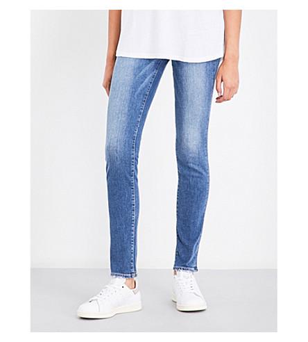 PAIGE DENIM Skyline skinny mid-rise jeans (Bali
