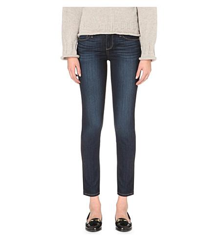 PAIGE Skyline skinny mid-rise jeans (Alanis
