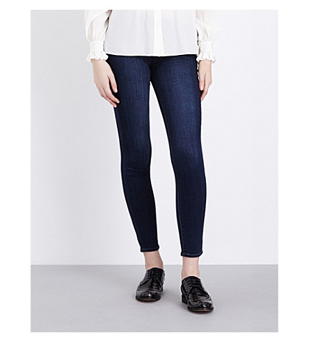 PAIGE Verdugo Ankle ultra-skinny mid-rise jeans (Clark