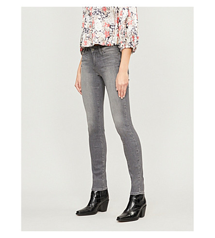 PAIGE Verdugo super-skinny mid-rise jeans (Silvie