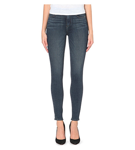 PAIGE DENIM Hoxton high-rise skinny jeans (Franklin