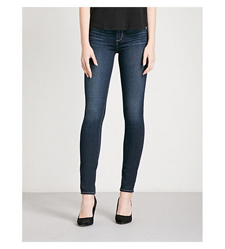 PAIGE Hoxton ultra-skinny high-rise jeans (Gardena
