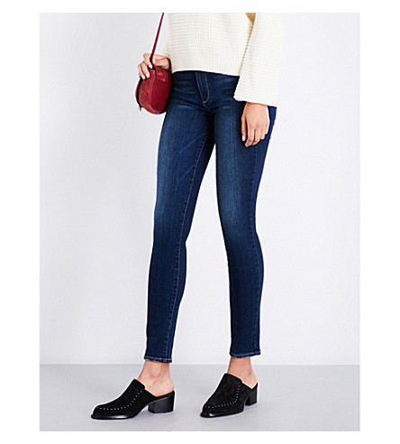 PAIGE Hoxton ultra-skinny high-rise jeans (Marina