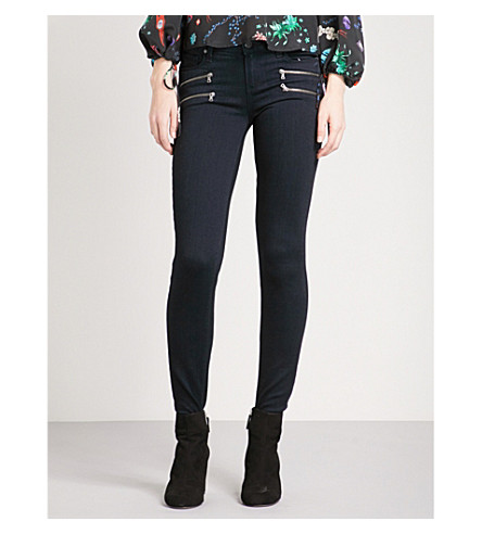 PAIGE Edgemont ultra-skinny high-rise jeans (Cherie
