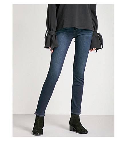 PAIGE Verdugo slim-fit skinny mid-rise jeans (Elsie