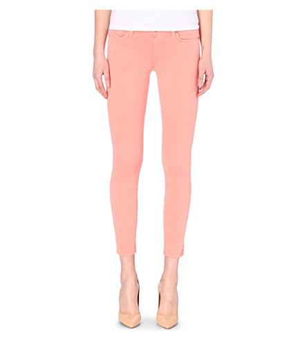 PAIGE DENIM Verdugo ankle ultra-skinny mid-rise jeans (Desert sunset