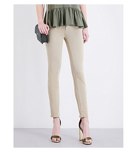 PAIGE DENIM Verdugo ultra-skinny mid-rise jeans (Vintage+khaki