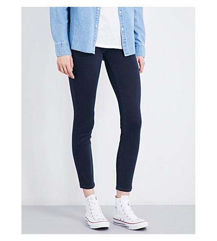 PAIGE DENIM Verdugo skinny mid-rise jeans (Navy+elipse