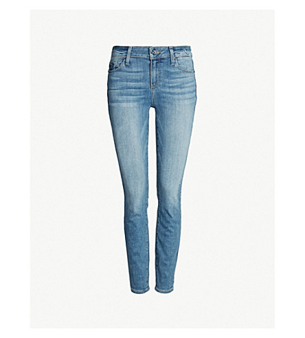 PAIGE Verdugo Ankle skinny mid-rise jeans (Sienna