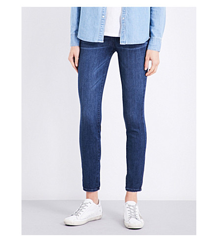 PAIGE Verdugo Ankle skinny cropped jeans (Maley
