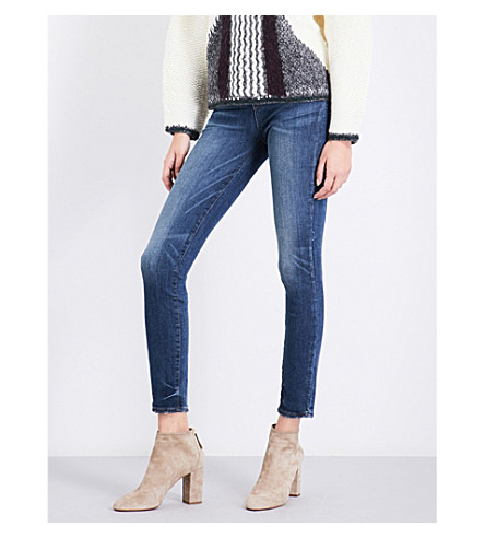 PAIGE Verdugo Ankle skinny mid-rise jeans (Mandell