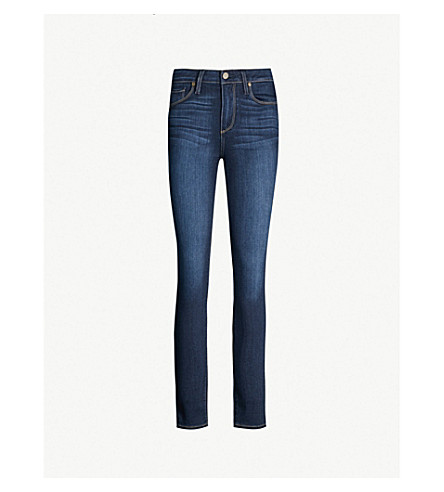 PAIGE Hoxton Ankle skinny high-rise jeans (Hartman