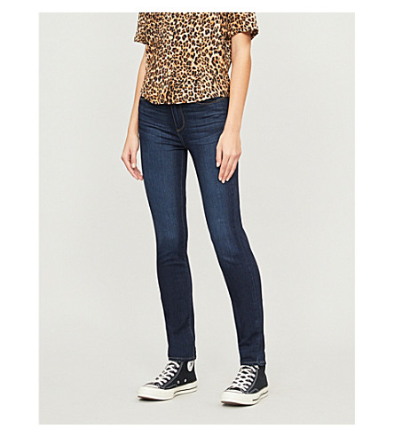 PAIGE DENIM Hoxton skinny high-rise jeans (Hartman