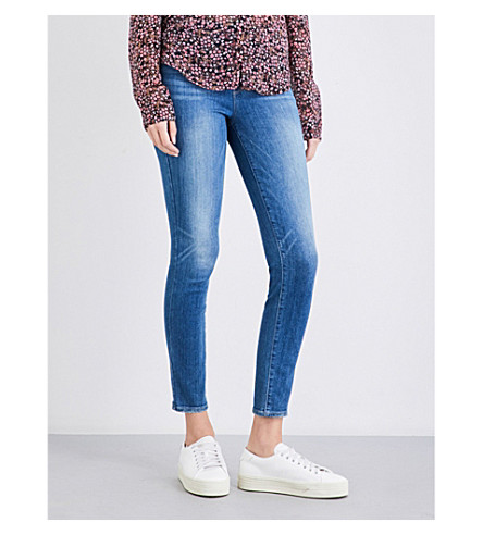 PAIGE DENIM Hoxton skinny high-rise jeans (Evelina