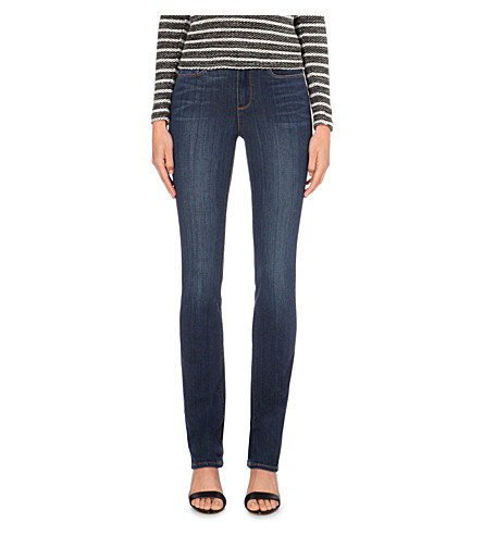 PAIGE DENIM Hoxton straight high-rise jeans (Raylene