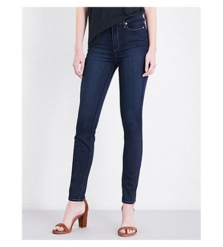 PAIGE Margot ultra-skinny mid-rise jeans (La+rue