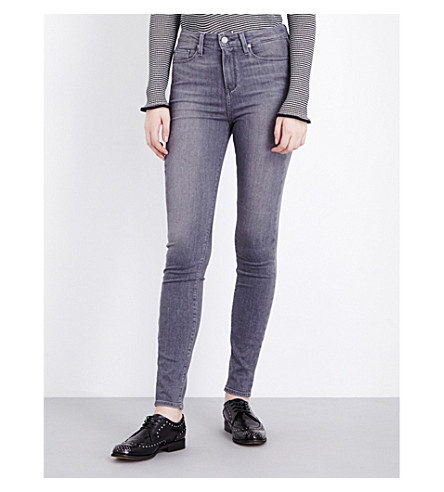 PAIGE DENIM Margot ultra-skinny high-rise jeans (Silvie