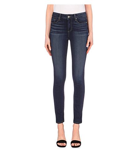 PAIGE DENIM Hoxton skinny high-rise jeans (Nottingham