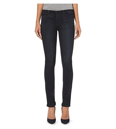 PAIGE DENIM Hoxton Ankle Peg skinny high-rise jeans (Barnette