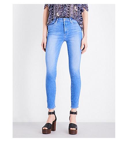 PAIGE DENIM Margot skinny high-rise jeans (Benita
