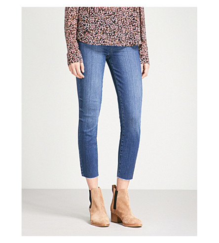 PAIGE Margot ultra-skinny high-rise jeans (Anika