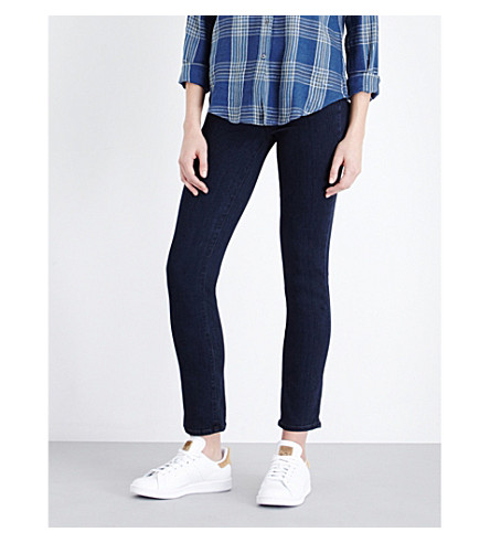 PAIGE DENIM Julia straight high-rise jeans (Gabriel