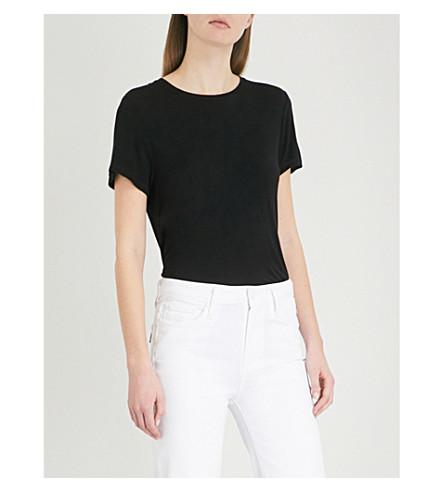PAIGE Bexley jersey T-shirt (Black