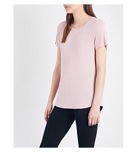 PAIGE DENIM Bexley jersey T-shirt (Pale+mauve
