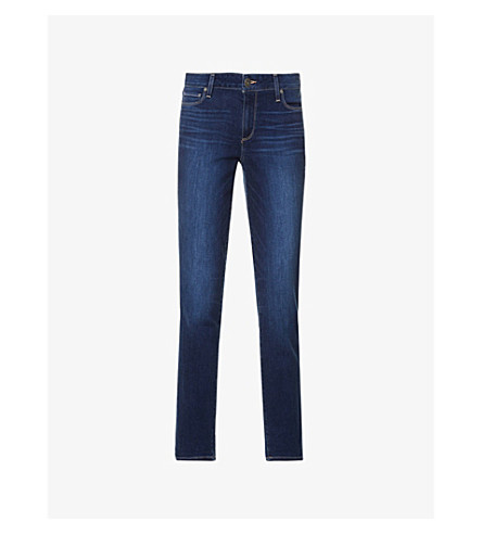 PAIGE Brigitte skinny cropped high-rise jeans (Enchant