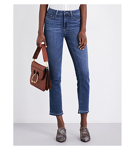 PAIGE DENIM The jacqueline high-rise cropped jeans (Marla