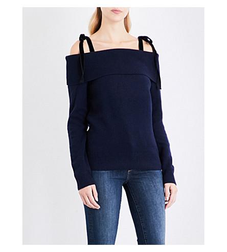 PAIGE DENIM Violette knitted jumper (Midnight+navy