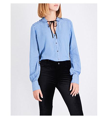 PAIGE Bronte chambray shirt (Magnolia