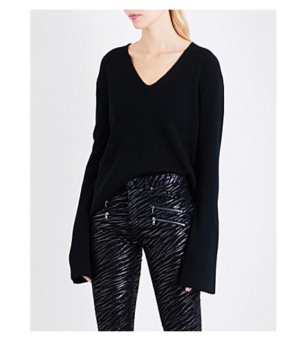 ROSIE HW X PAIGE Paige x Rosie HW Darian wool-knitted jumper (Black
