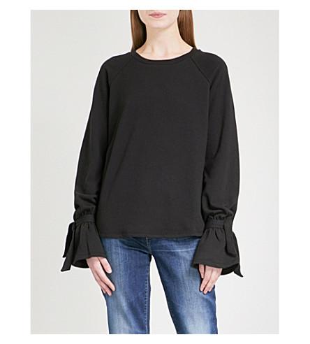 PAIGE Calandra cotton-blend sweatshirt (Vintage+black