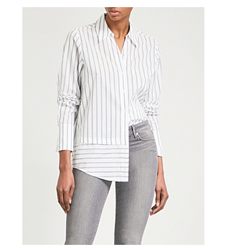 PAIGE Tennessee cotton-voile shirt (Papyrus
