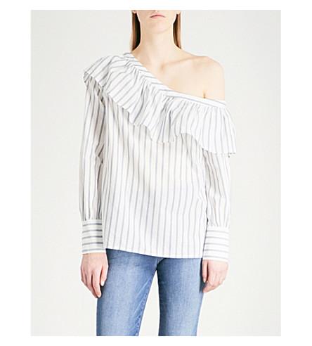 PAIGE Halsey cotton blouse (Papyrus