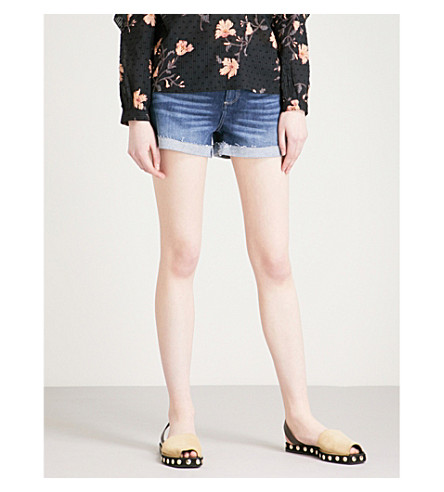 PAIGE Jimmy Jimmy mid-rise denim shorts (Kylen