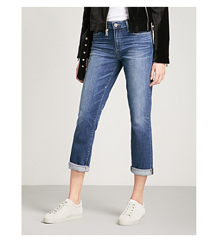 PAIGE Jimmy Jimmy straight high-rise jeans (Marmont