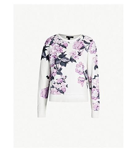 PAIGE Milani stretch-jersey sweatshirt (Birch/lavender fog