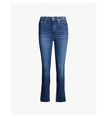 PAIGE Margot super high-rise ultra skinny jeans (Braelynn