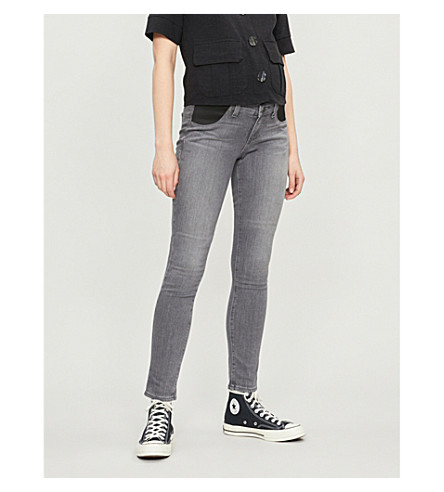 PAIGE Verdugo skinny mid-rise maternity jeans (Silvie