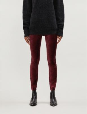 Verdugo ultra-skinny velvet jeans