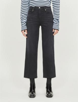 Nellie Culotte wide-leg high-rise trousers